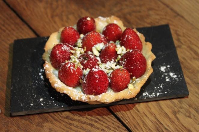 Version tartelette aux fraises !